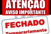Pias, Encerramento Temporário dos Serviços Administrativos
