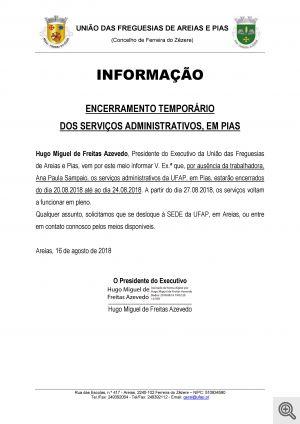 informação pias 08.2018