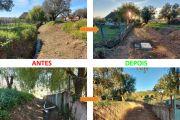 Robária, Caminho S/Nome – Alargamento e encaminhamento das águas pluviais