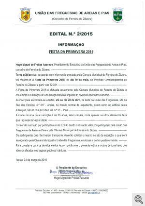 edital 2 2015