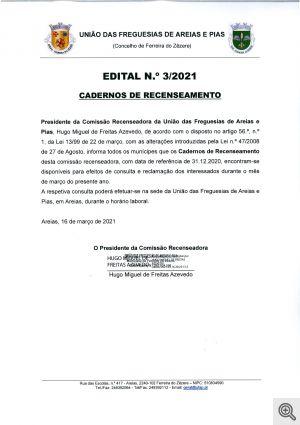 edital n.º 03 2021